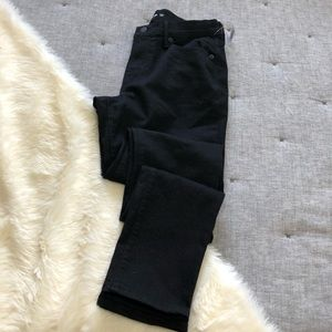 NWT Old navy black curvy skinny jeans sz.4long